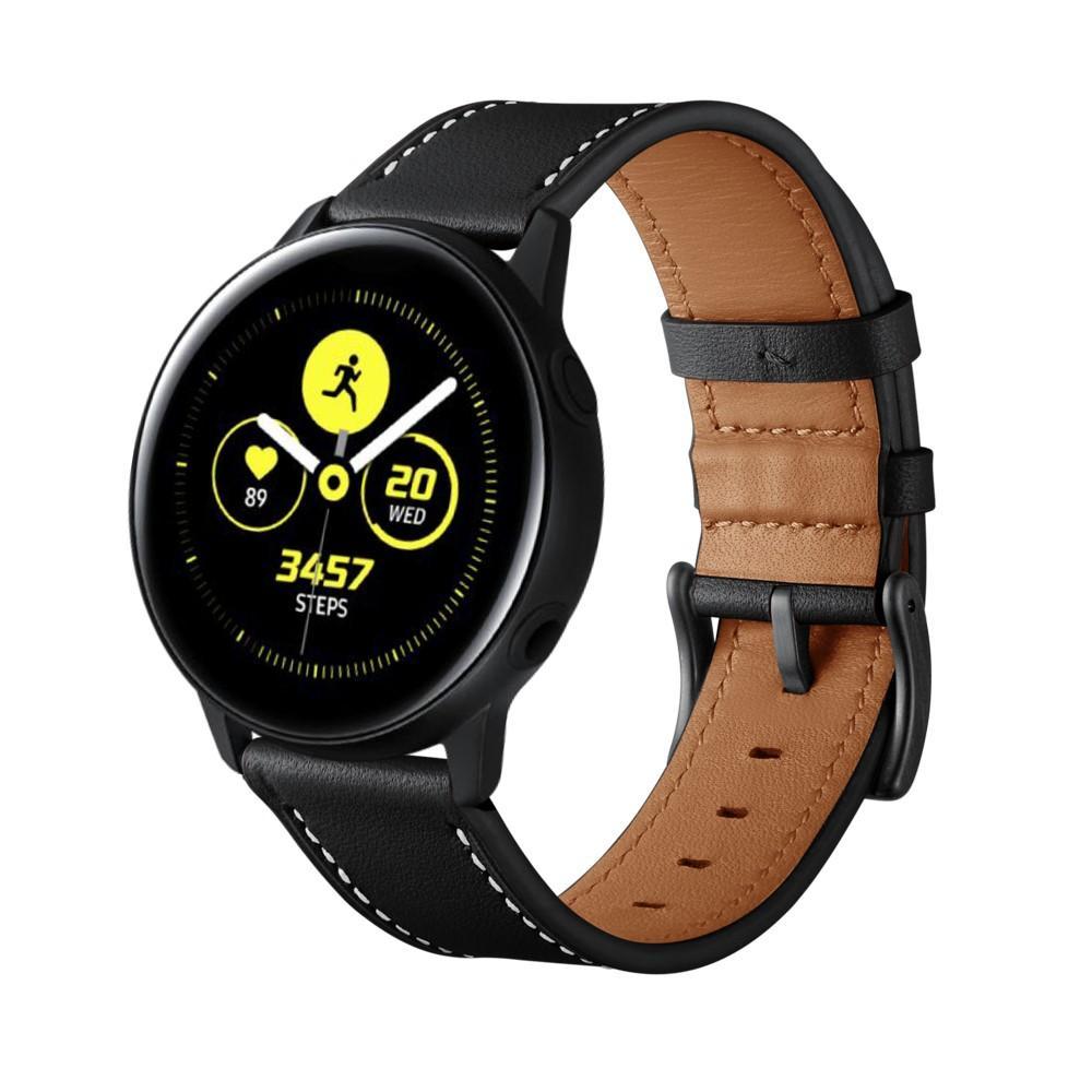 Lærarmbånd Galaxy Watch Active/42mm svart