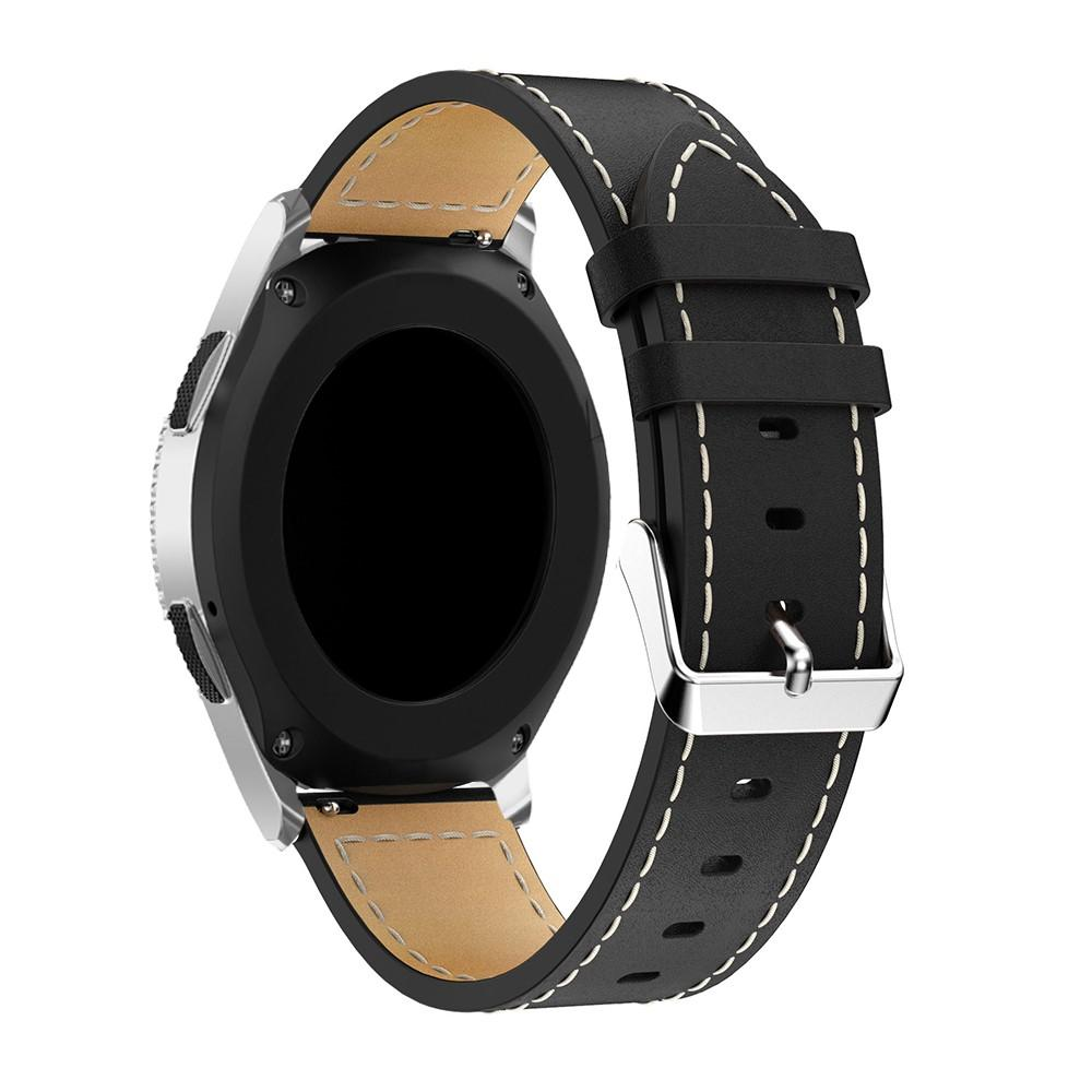 Lærarmbånd Samsung Galaxy Watch 46mm svart