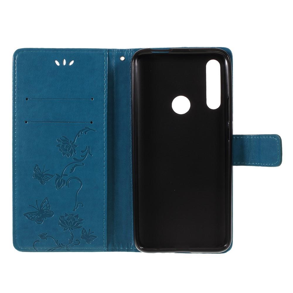 Lærveske Sommerfugler Huawei P Smart Z blå