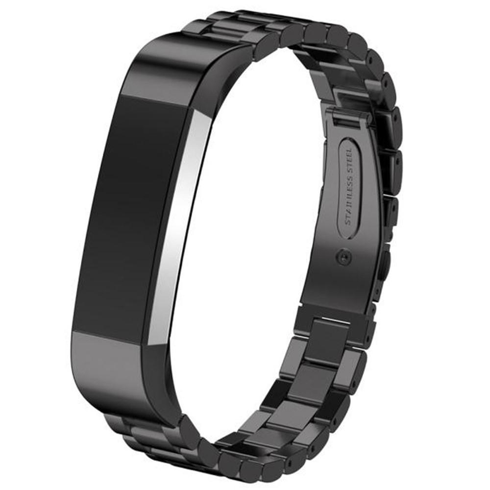 Metallarmbånd Fitbit Alta/Alta HR svart