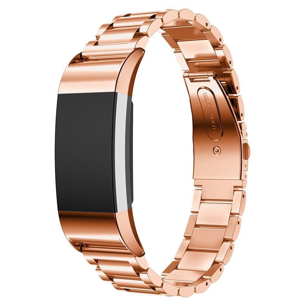 Metallarmbånd Fitbit Charge 2 rosegull
