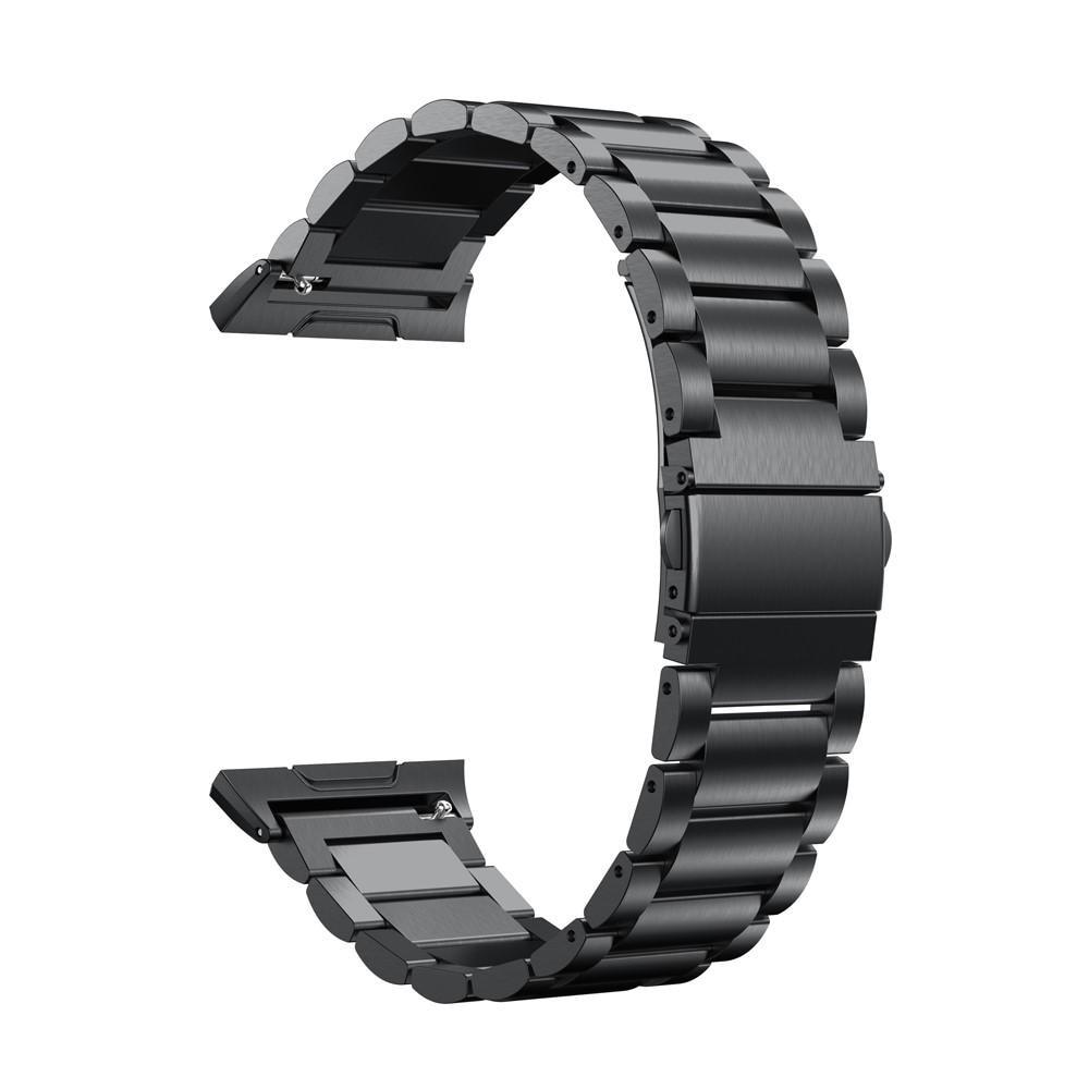 Metallarmbånd Fitbit Ionic svart