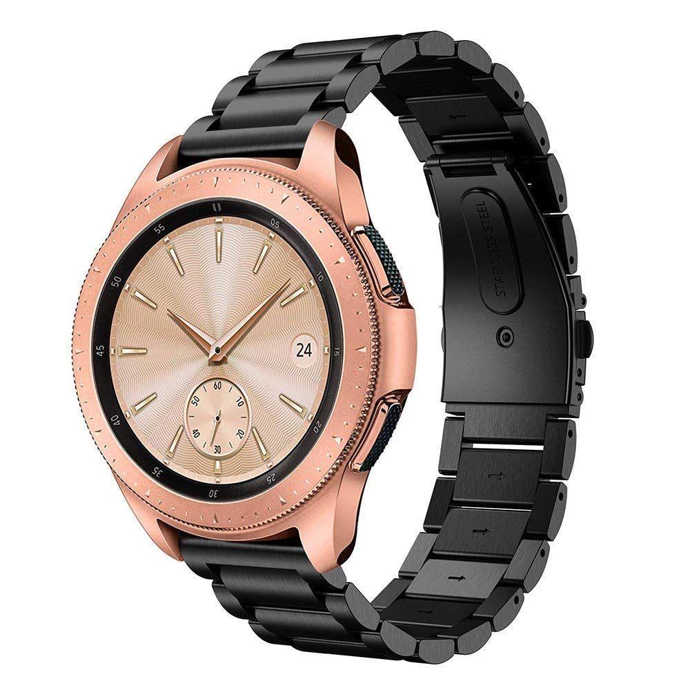Metallarmbånd Samsung Galaxy Watch 42mm svart