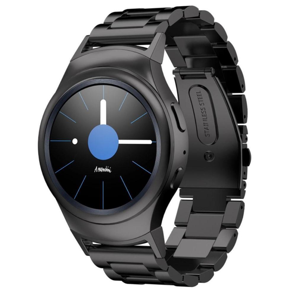 Metallarmbånd Samsung Gear S2 svart
