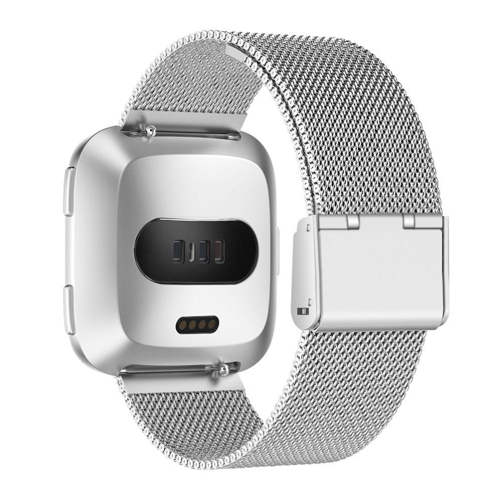 Mesh Bracelet Fitbit Versa/Versa 2 Silver