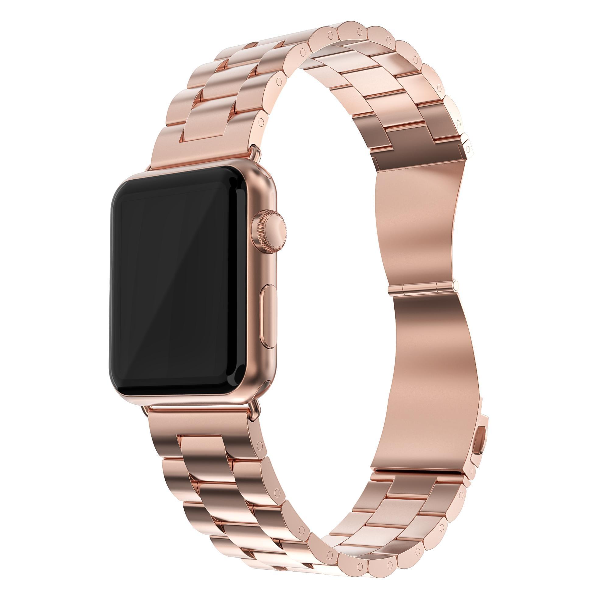 Metallarmbånd Apple Watch 38/40/41 mm rosegull