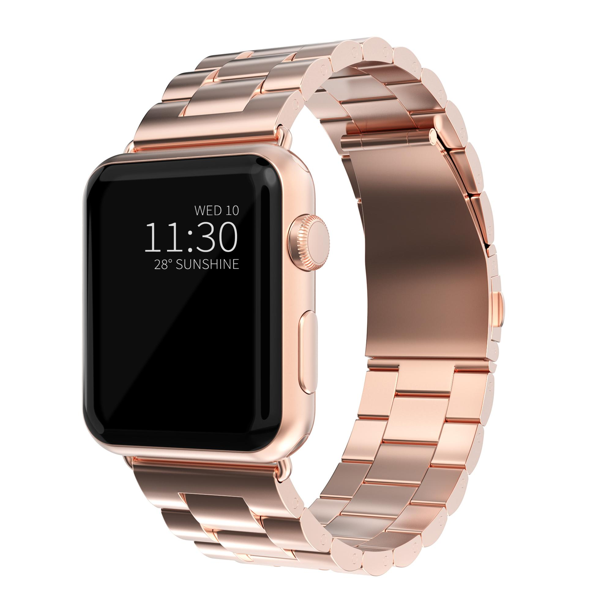 Metallarmbånd Apple Watch 38/40 mm rosegull