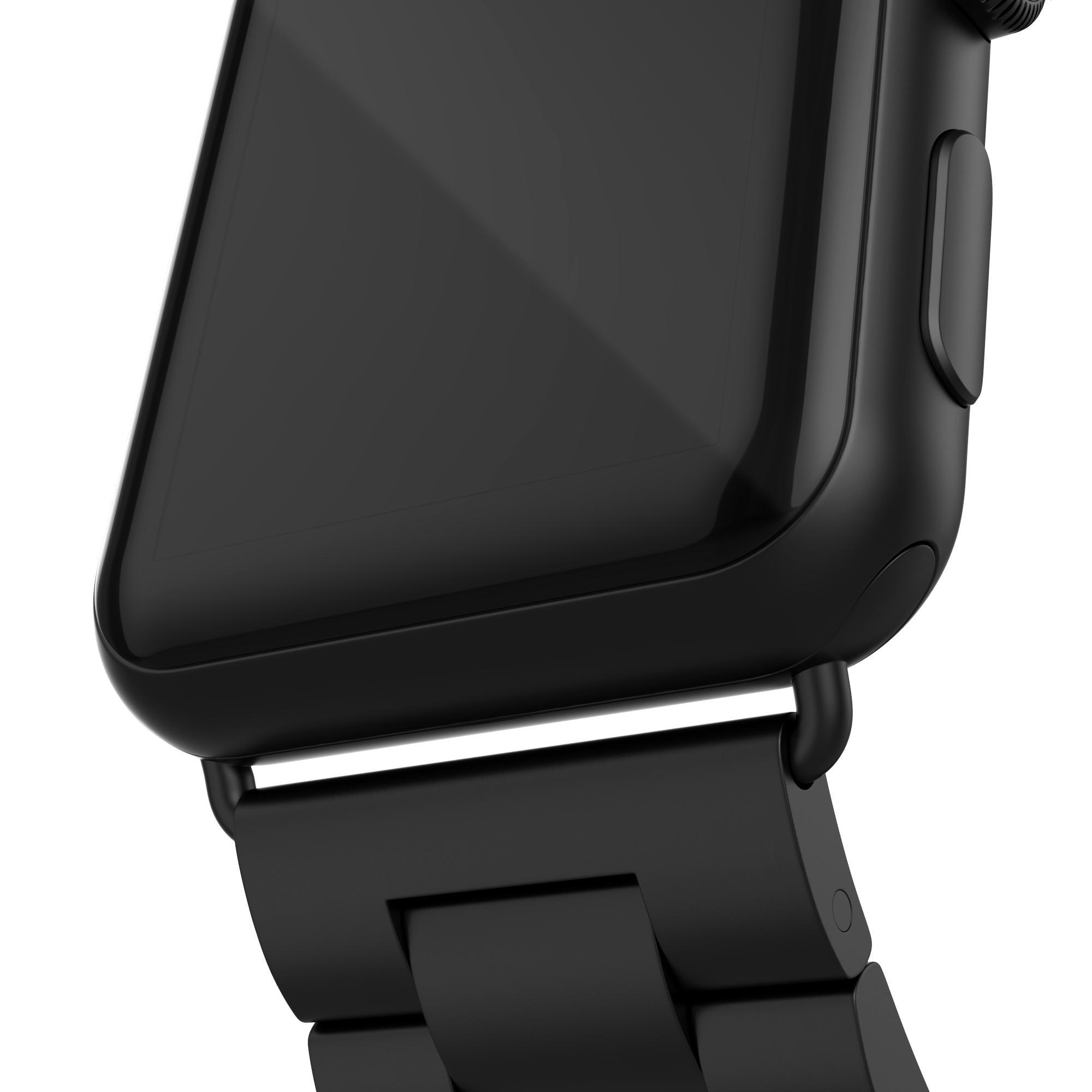 Metallarmbånd Apple Watch 38/40/41 mm svart