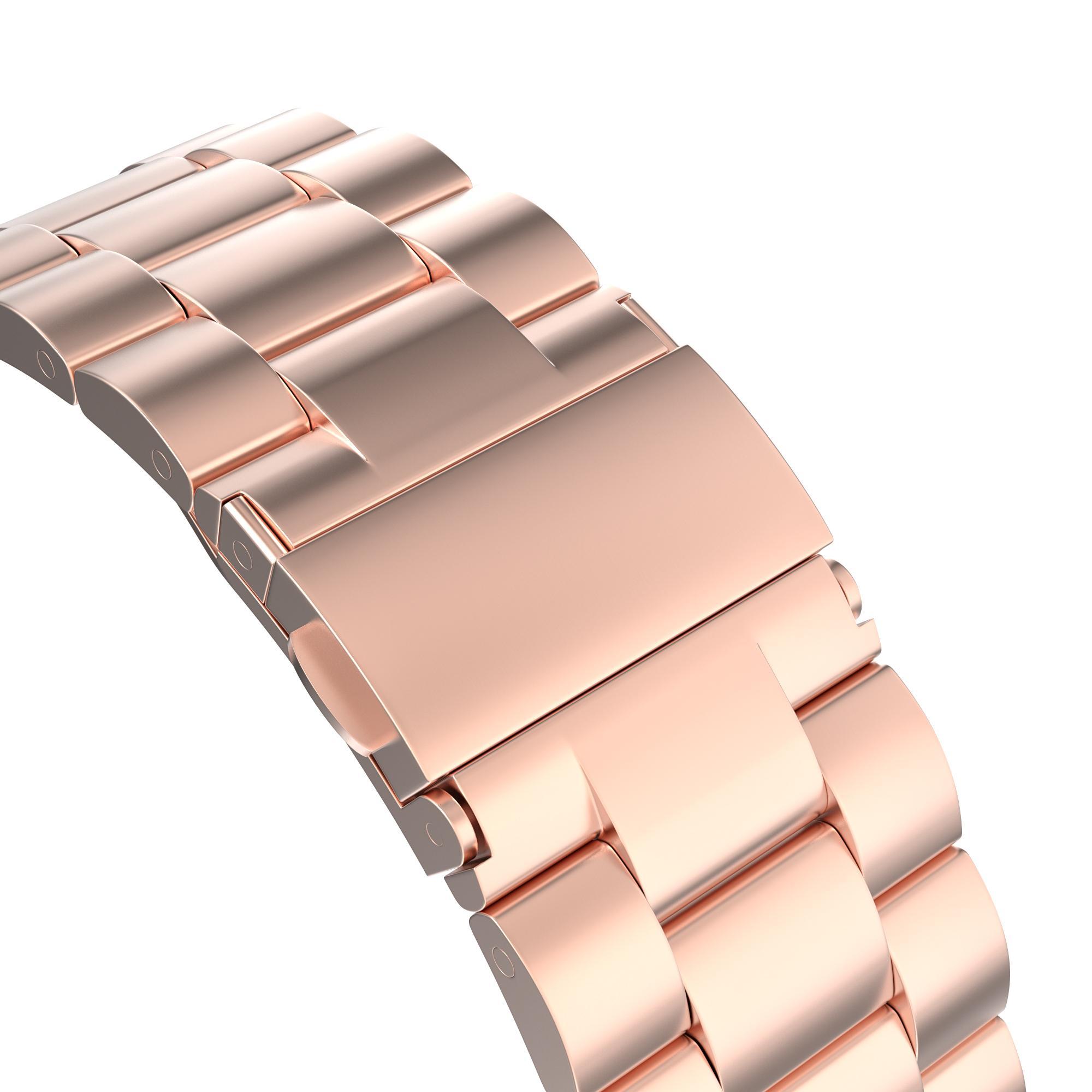 Metallarmbånd Apple Watch 42/44/45 mm rosegull