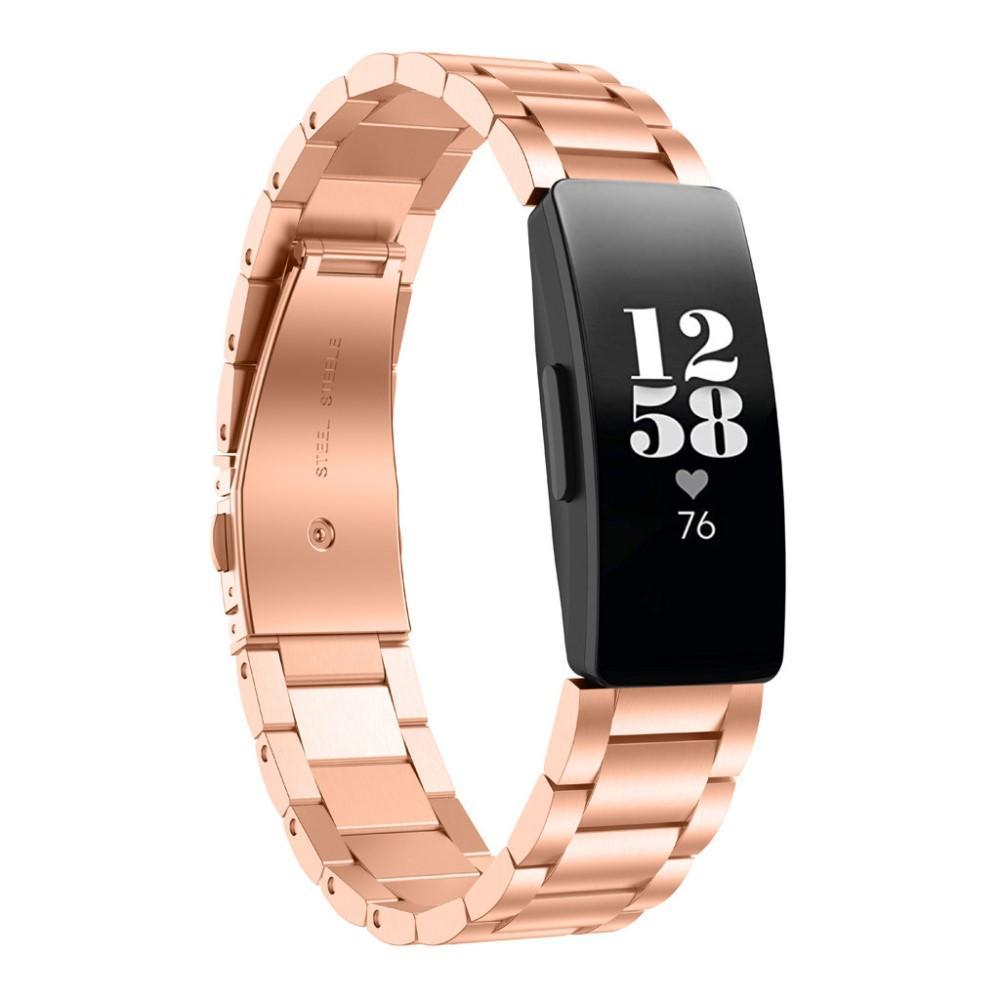 Metallarmbånd Fitbit Inspire/Inspire HR/Inspire 2 rosegull