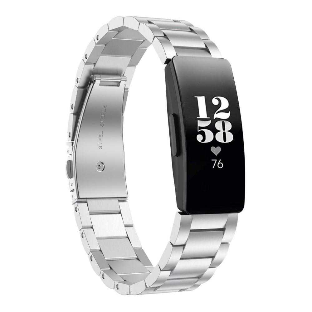 Metallarmbånd Fitbit Inspire/Inspire HR/Inspire 2 sølv