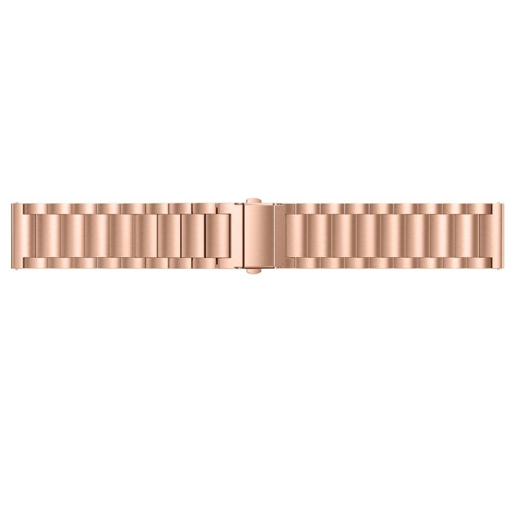 Metallarmbånd Fitbit Versa/Versa Lite/Versa 2 rosegull