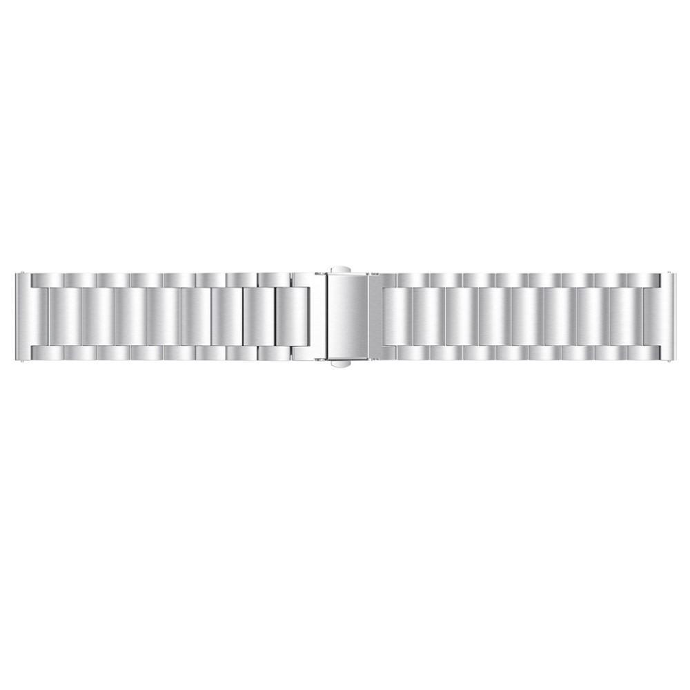 Metallarmbånd Fitbit Versa/Versa Lite/Versa 2 sølv