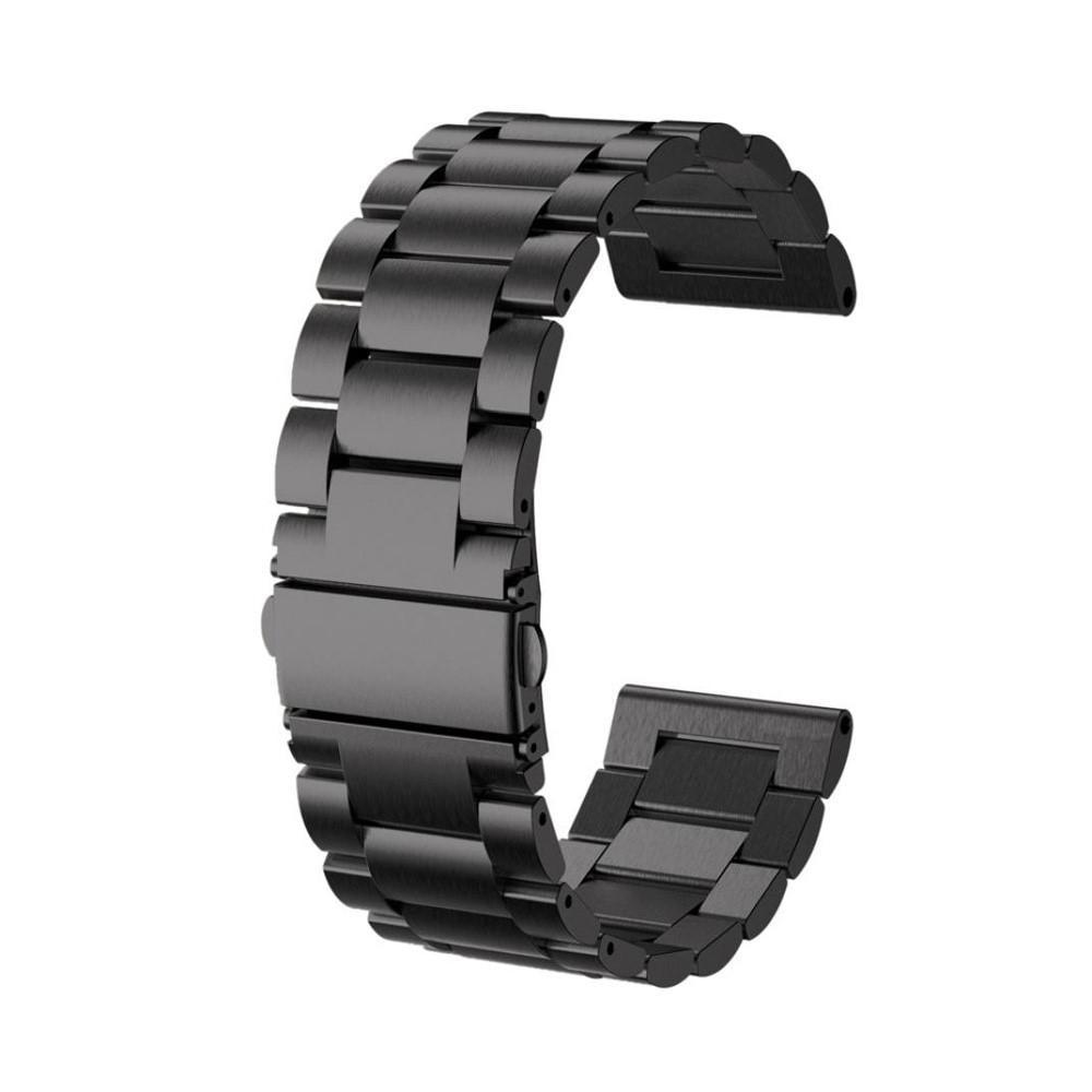 Metallarmbånd Garmin Fenix 3/3 HR/5X/5X Plus svart