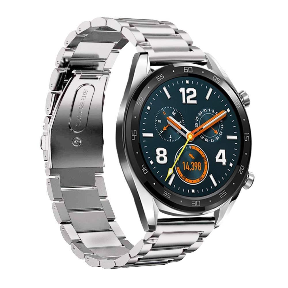 Metallarmbånd Huawei Watch GT/GT 2 46mm/GT 2e sølv