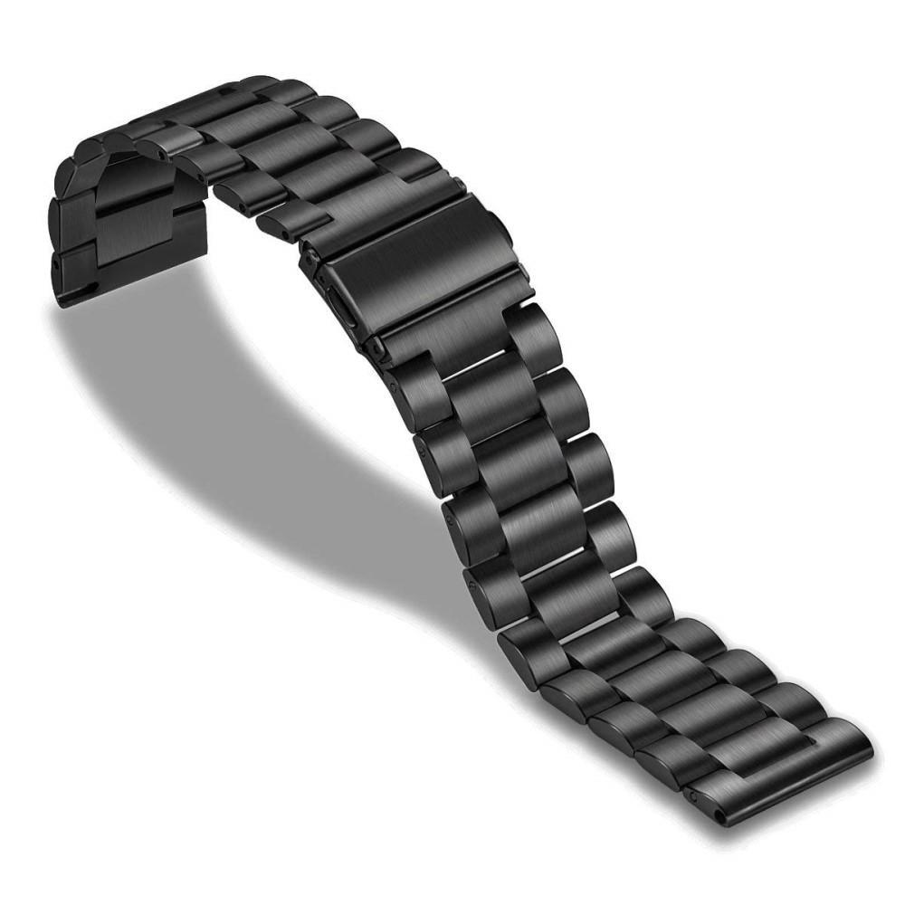 Metallarmbånd Huawei Watch GT/GT 2 46mm/GT 2e svart