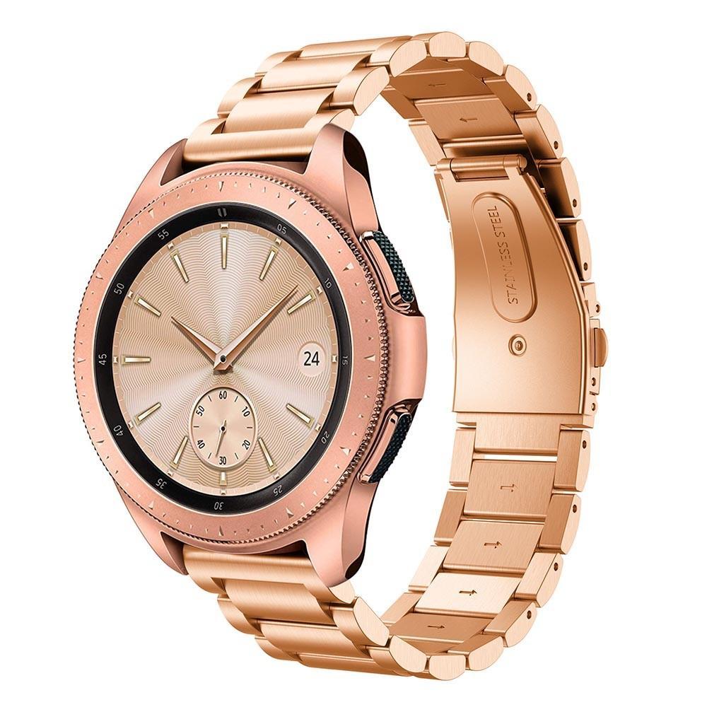 Metallarmbånd Samsung Galaxy Watch 42mm rosegull