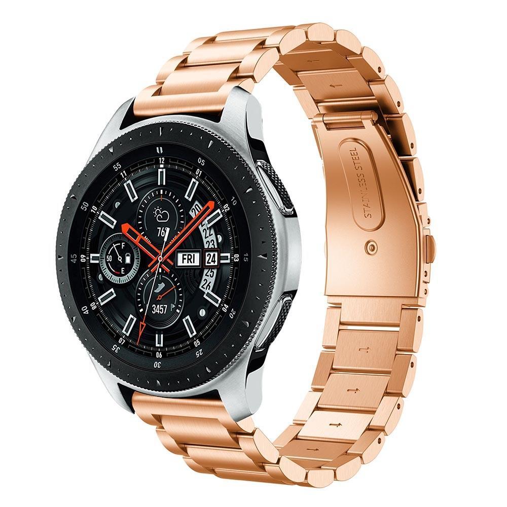 Metallarmbånd Samsung Galaxy Watch 46mm rosegull