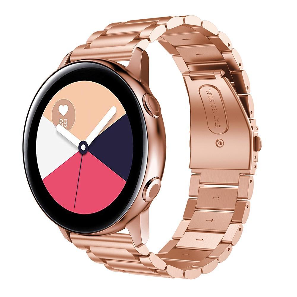 Metallarmbånd Samsung Galaxy Watch Active rosegull