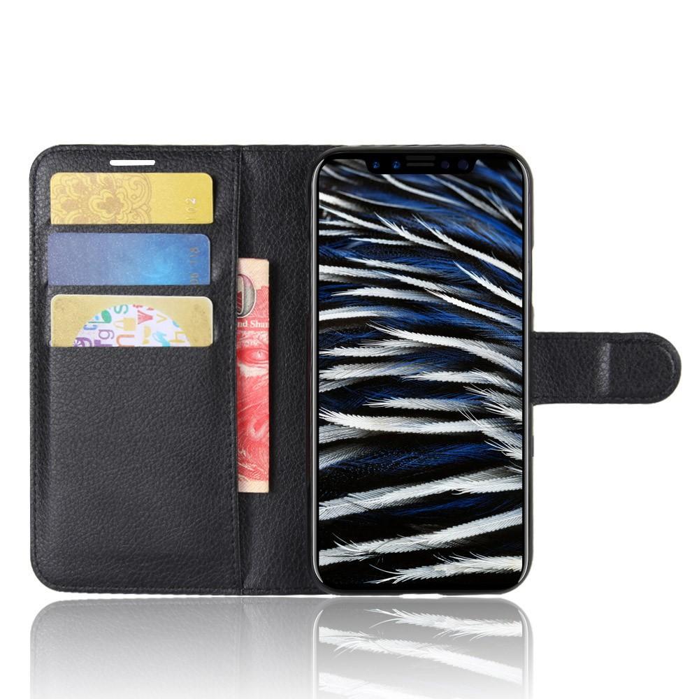 Mobilveske Apple iPhone X/XS svart