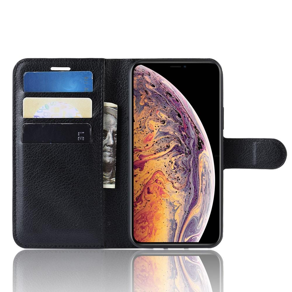 Mobilveske Apple iPhone XI Max svart
