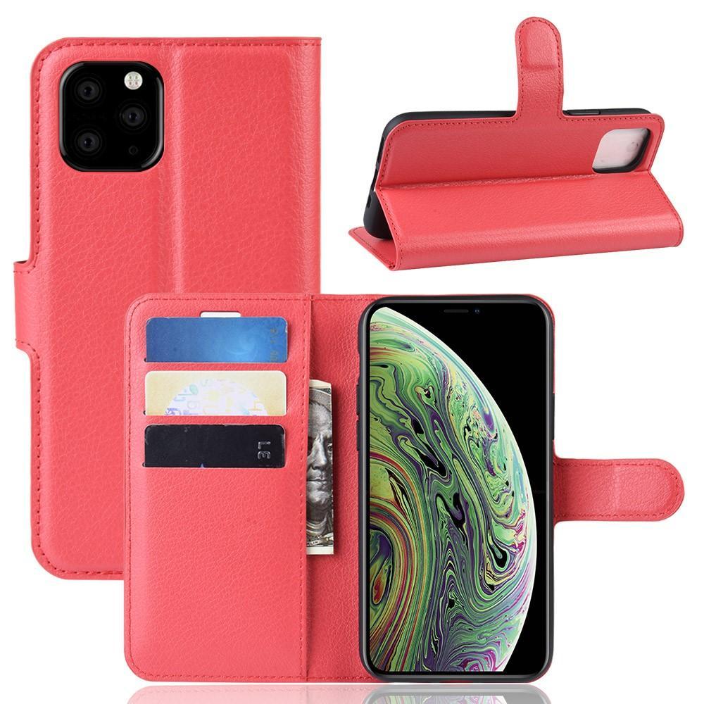 Mobilveske Apple iPhone 11 Pro rød