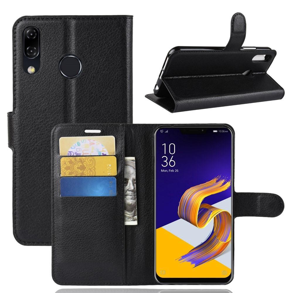 Mobilveske Asus ZenFone 5/ZenFone 5Z svart