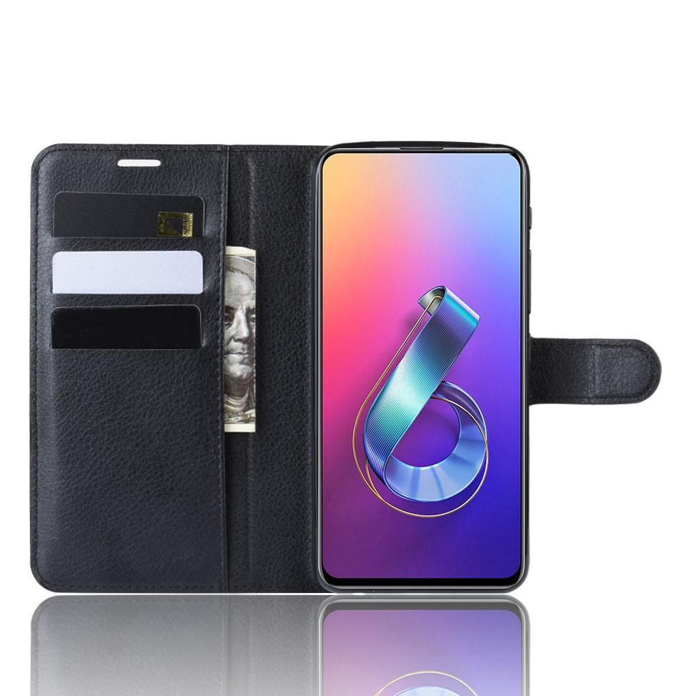 Mobilveske Asus ZenFone 6 svart