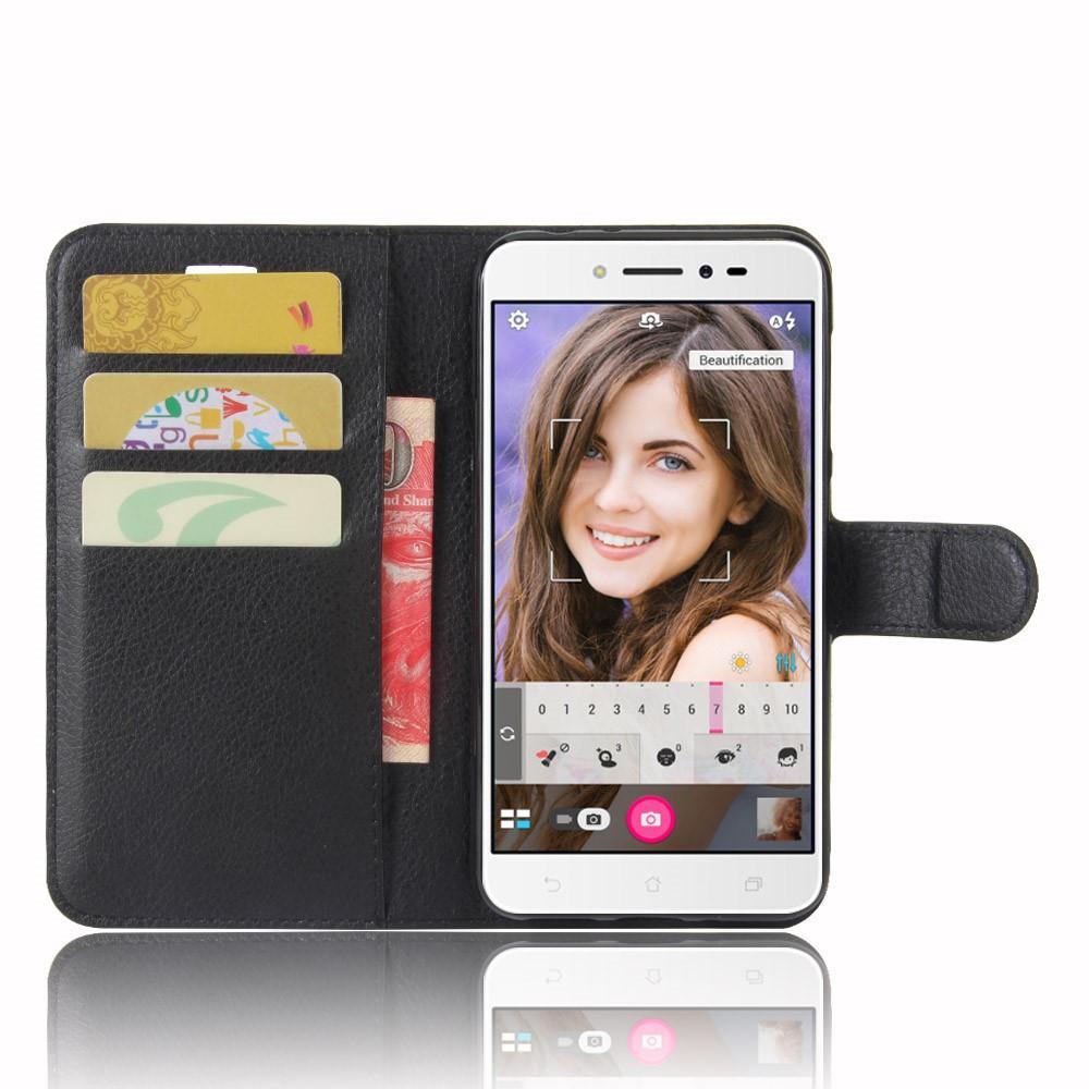 Mobilveske Asus ZenFone Live svart