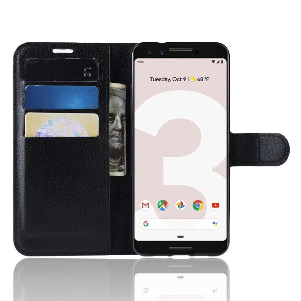Mobilveske Google Pixel 3a svart