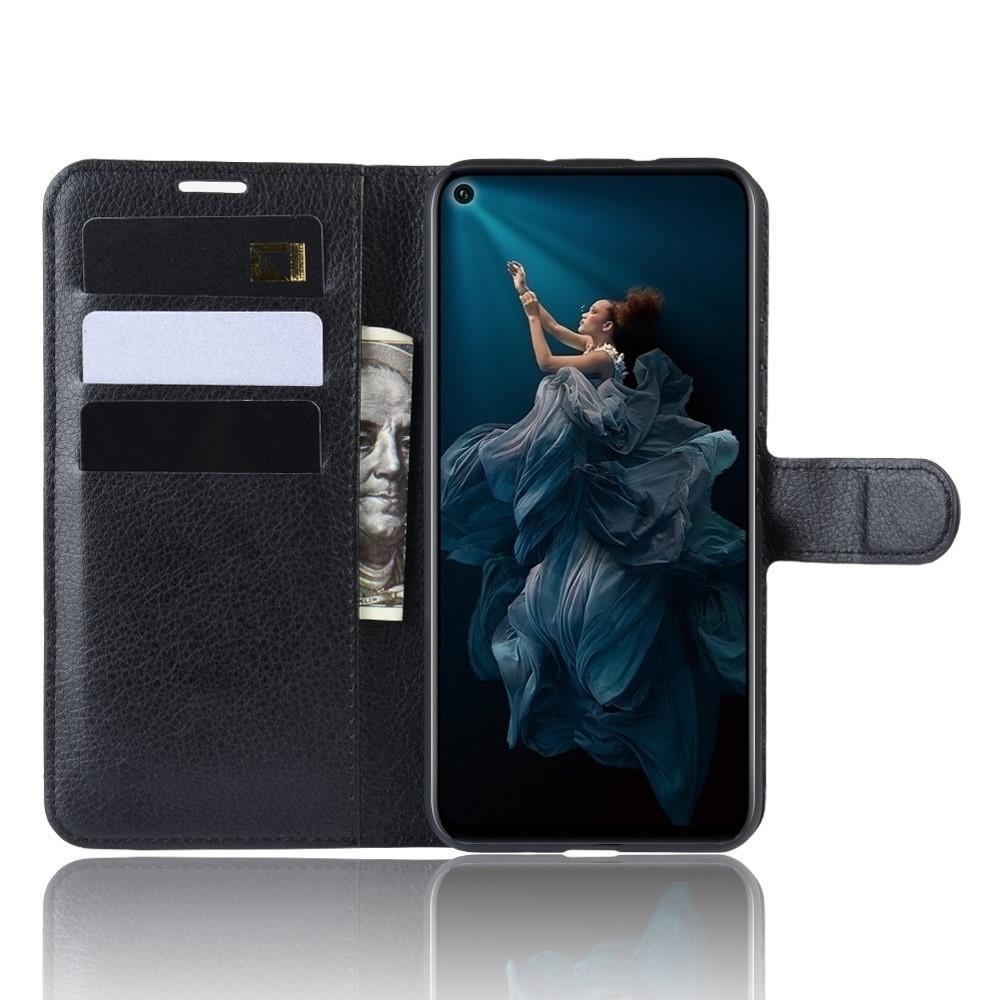 Mobilveske Honor 20 Pro svart
