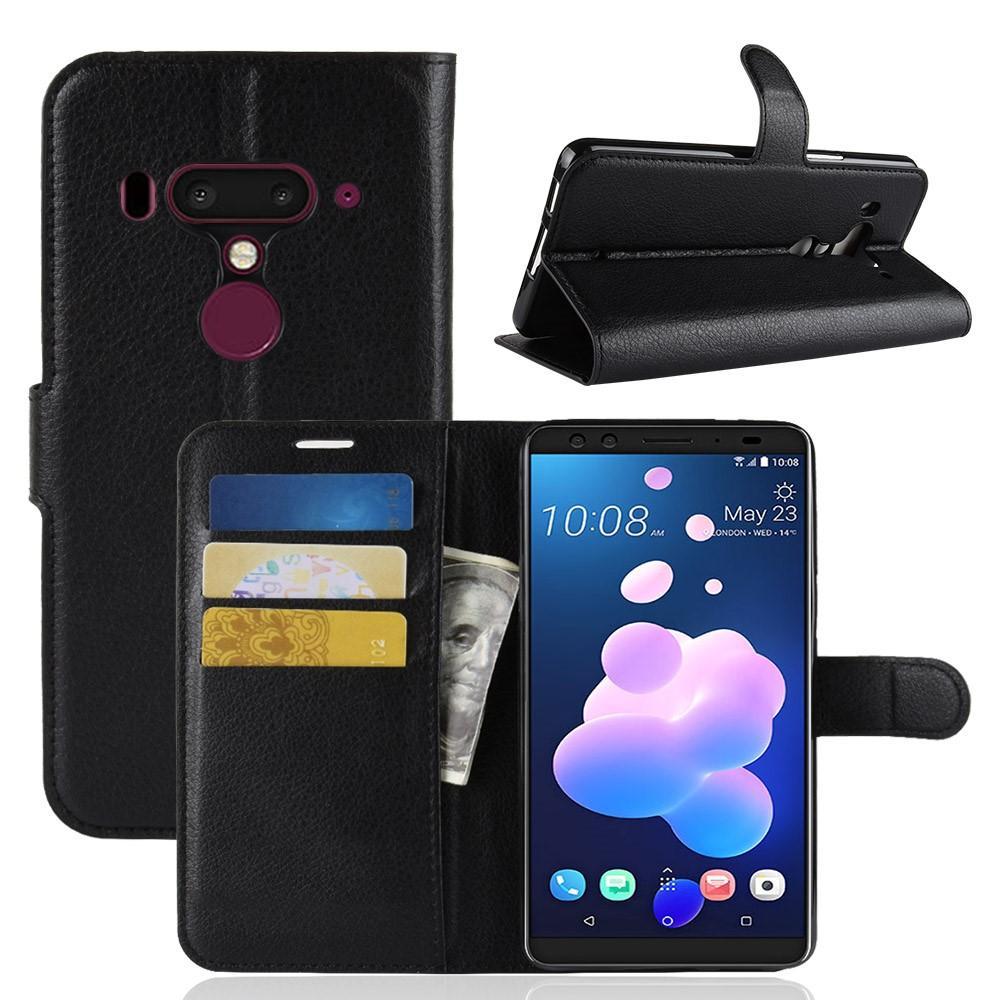 Mobilveske HTC U12+ svart