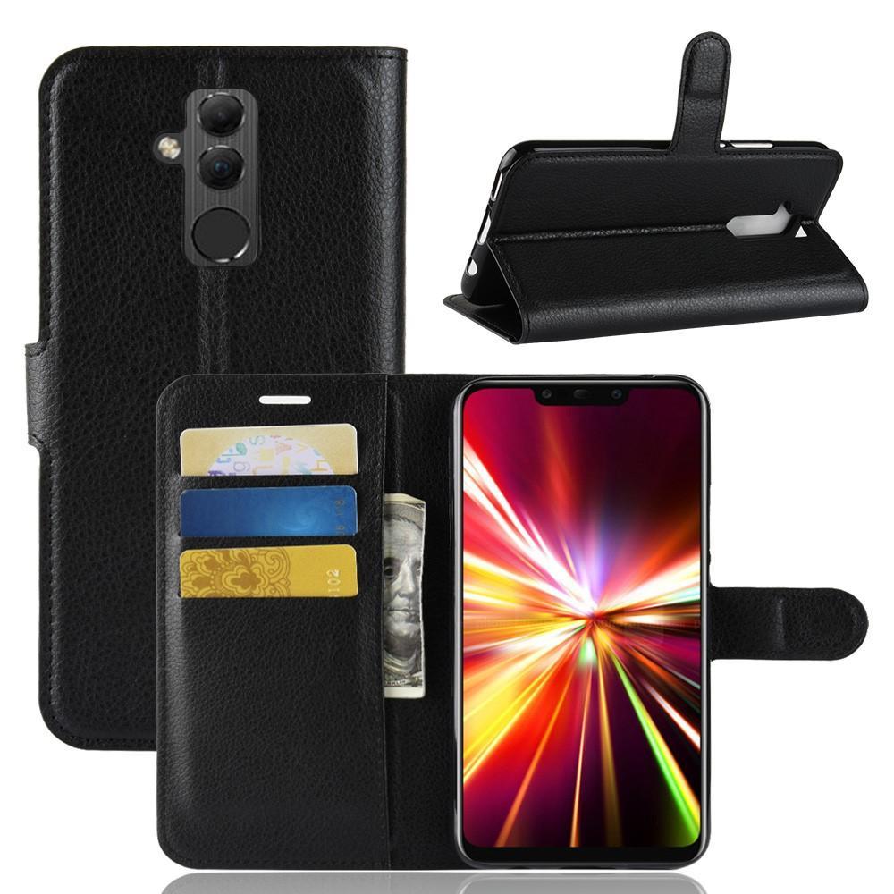 Mobilveske Huawei Mate 20 Lite svart