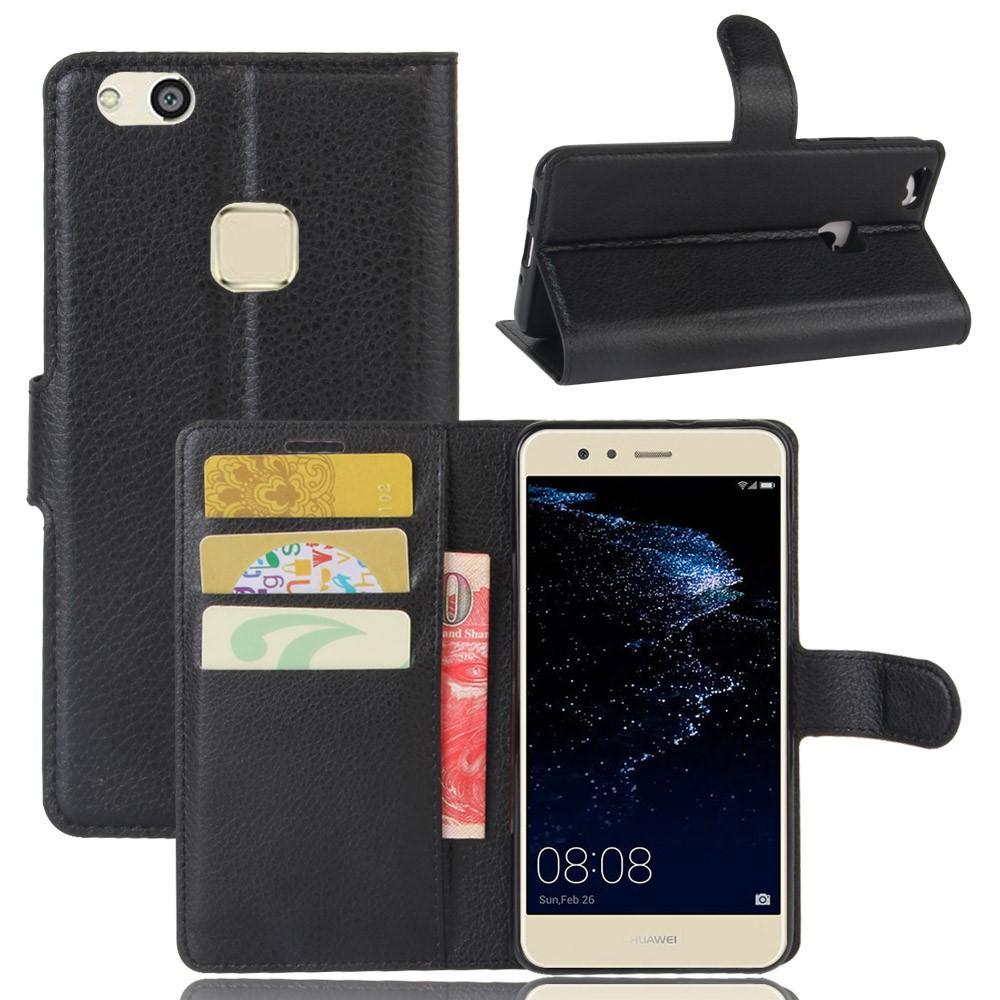 Mobilveske Huawei P10 Lite svart