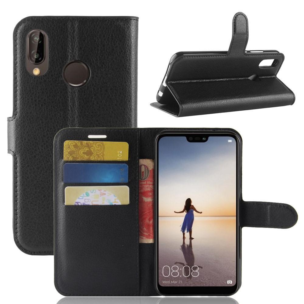 Mobilveske Huawei P20 Lite svart