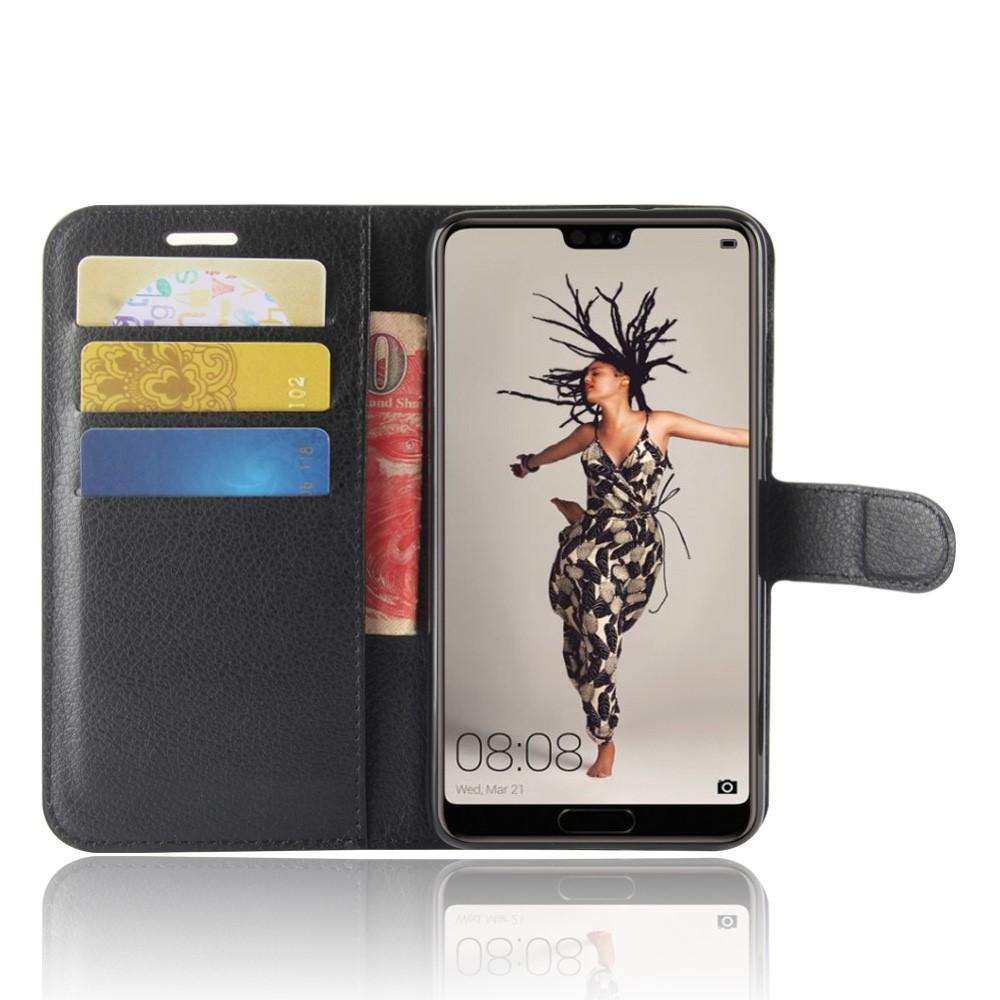 Mobilveske Huawei P20 svart