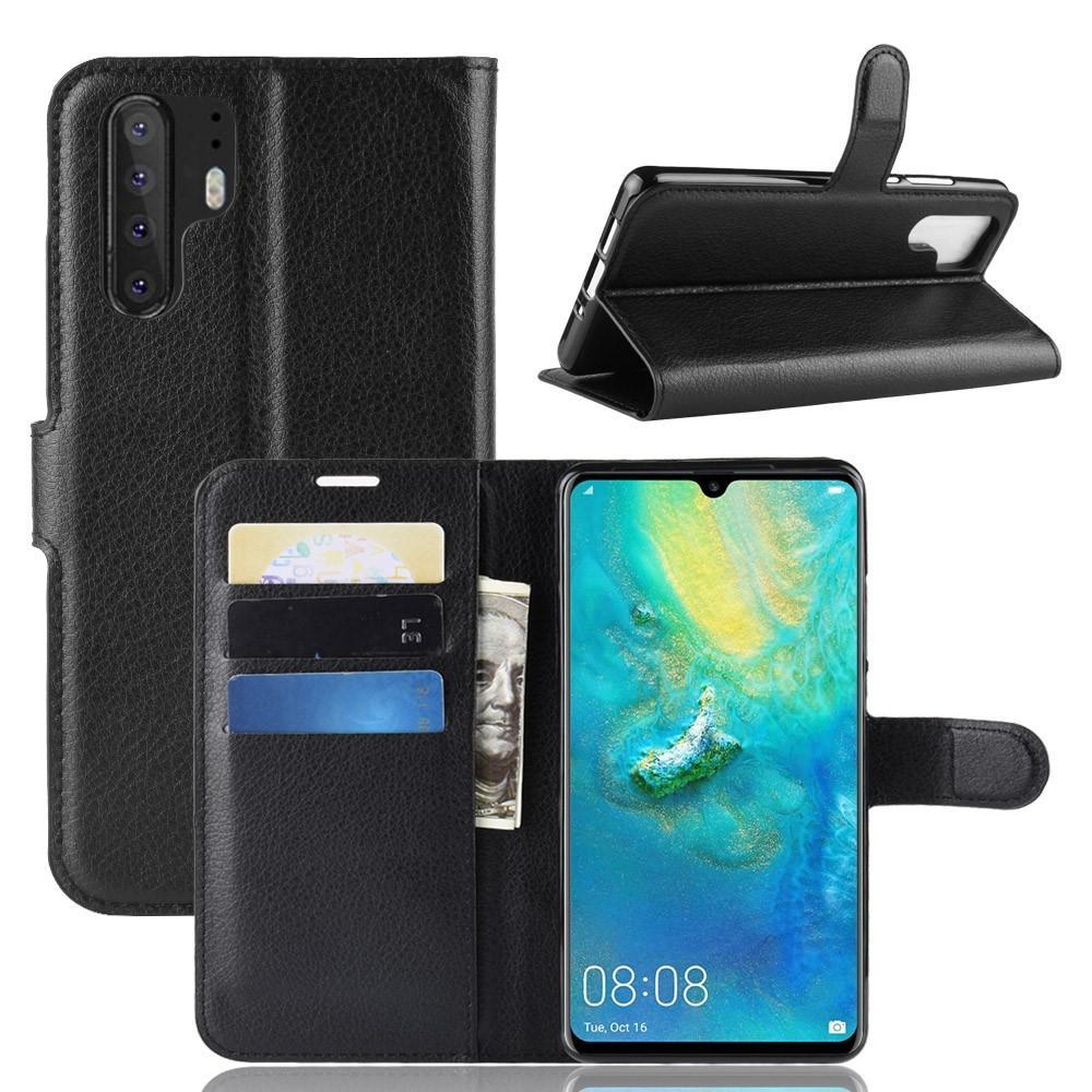 Mobilveske Huawei P30 Pro svart