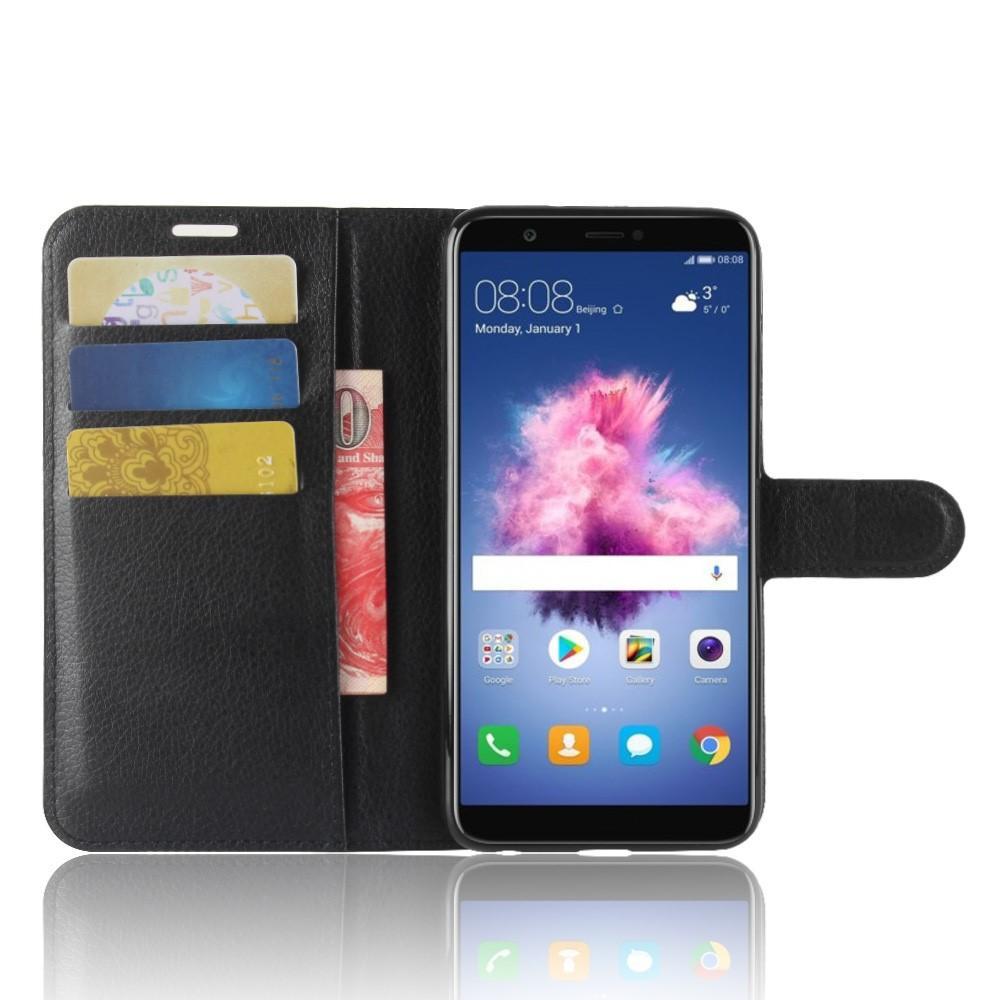 Mobilveske Huawei P Smart svart