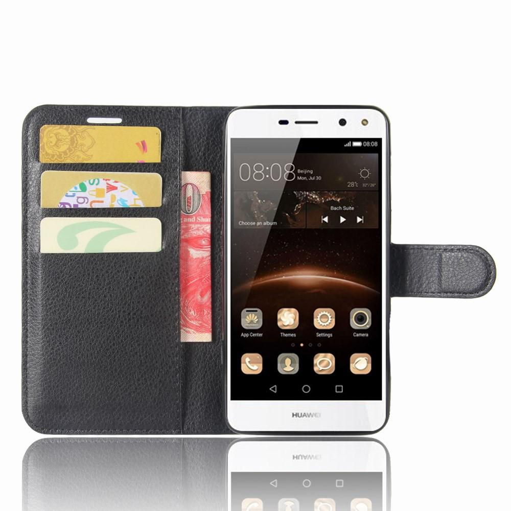 Mobilveske Huawei Y6 2017 svart