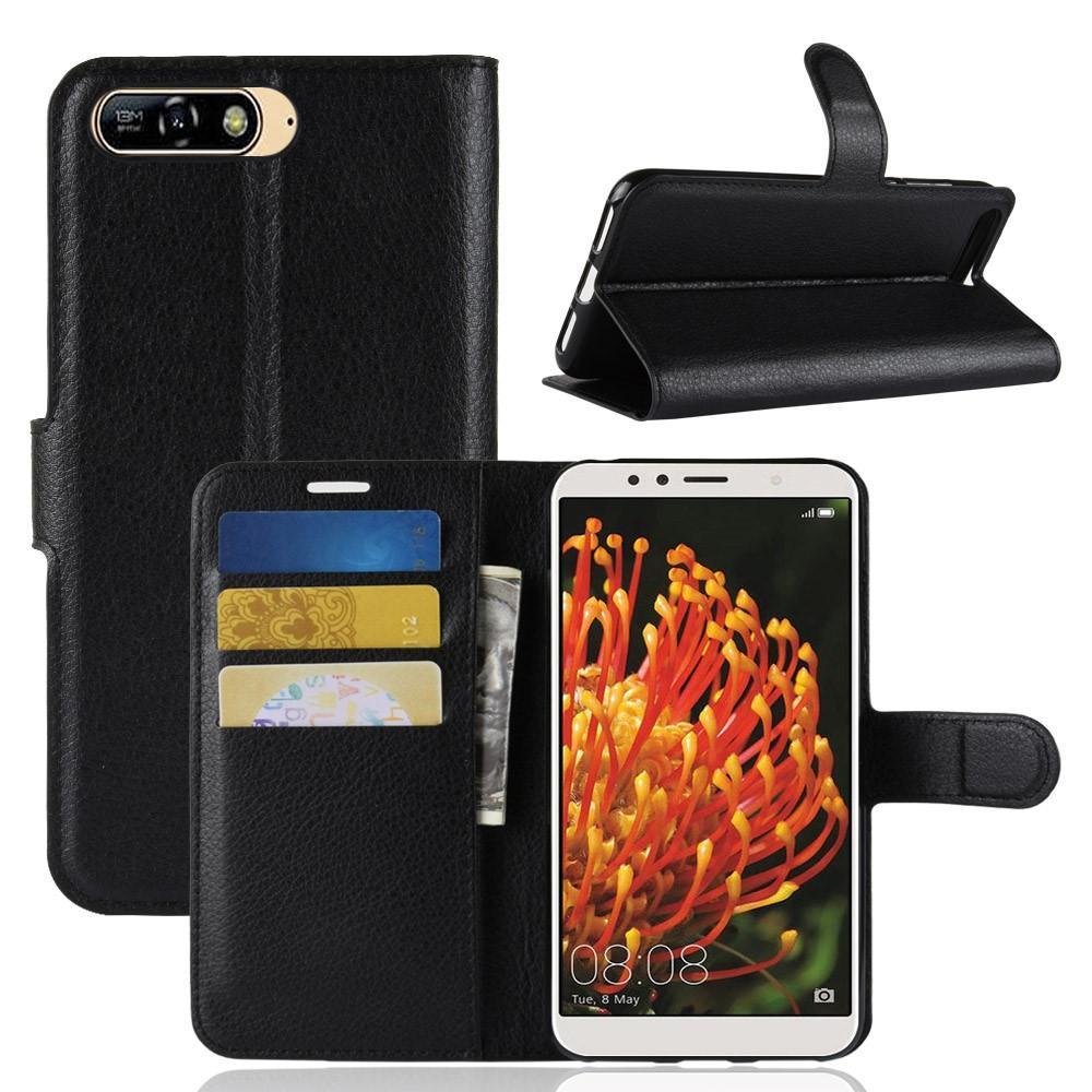 Mobilveske Huawei Y6 2018 svart