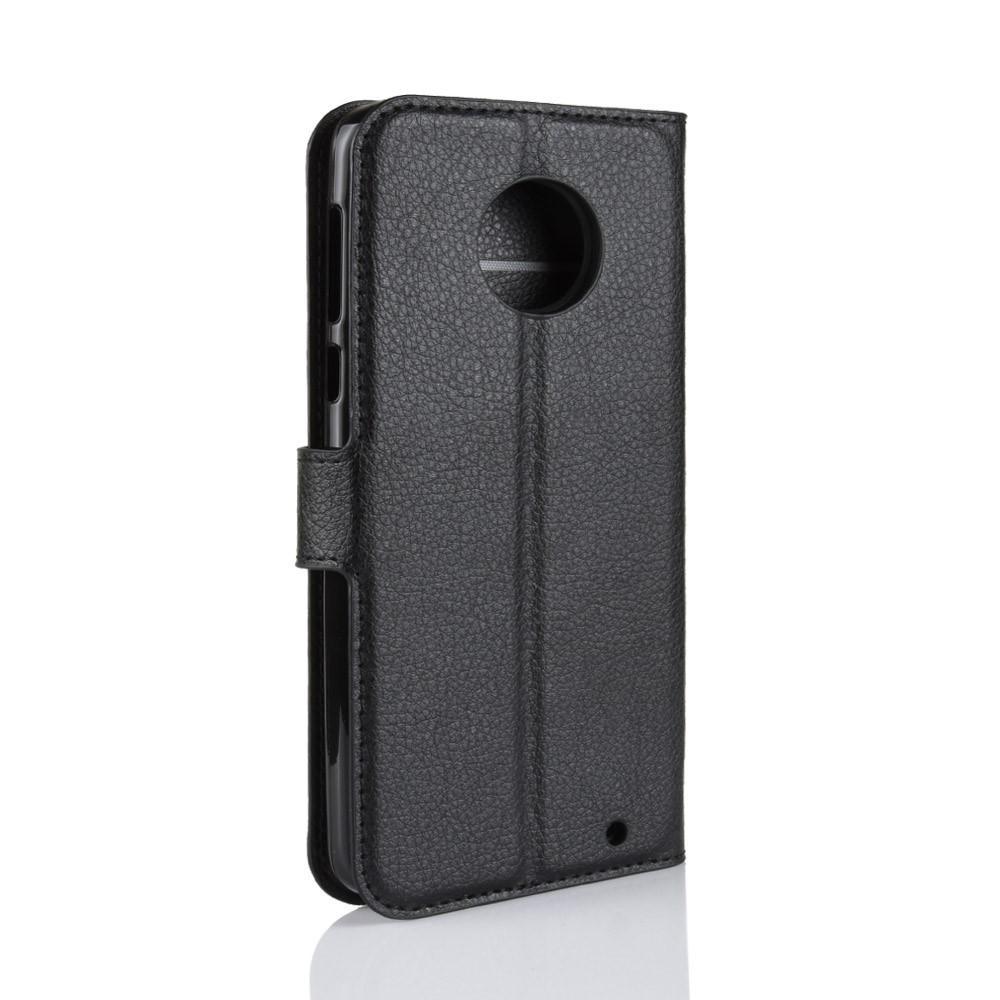 Mobilveske Motorola Moto G6 Plus svart