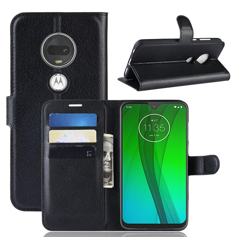 Mobilveske Motorola Moto G7/G7 Plus svart
