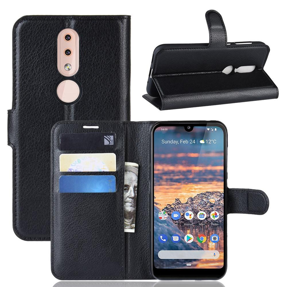 Mobilveske Nokia 4.2 svart