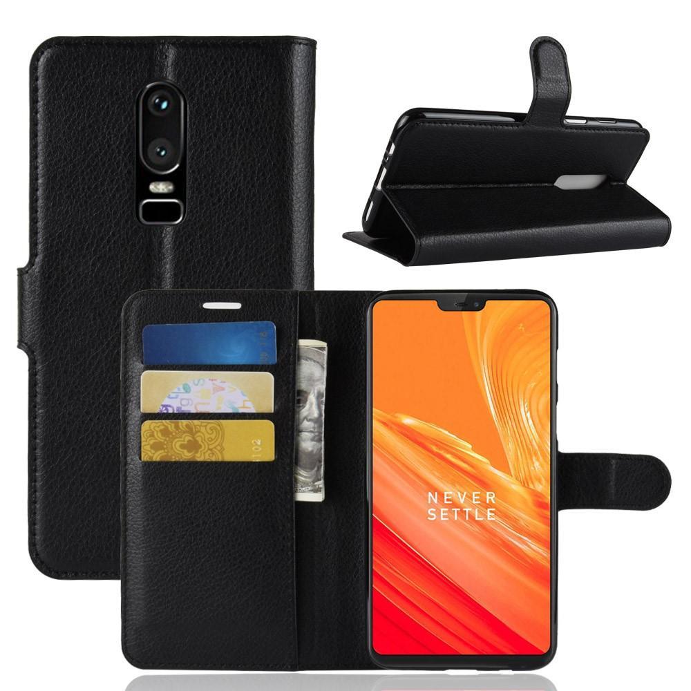 Mobilveske OnePlus 6 svart
