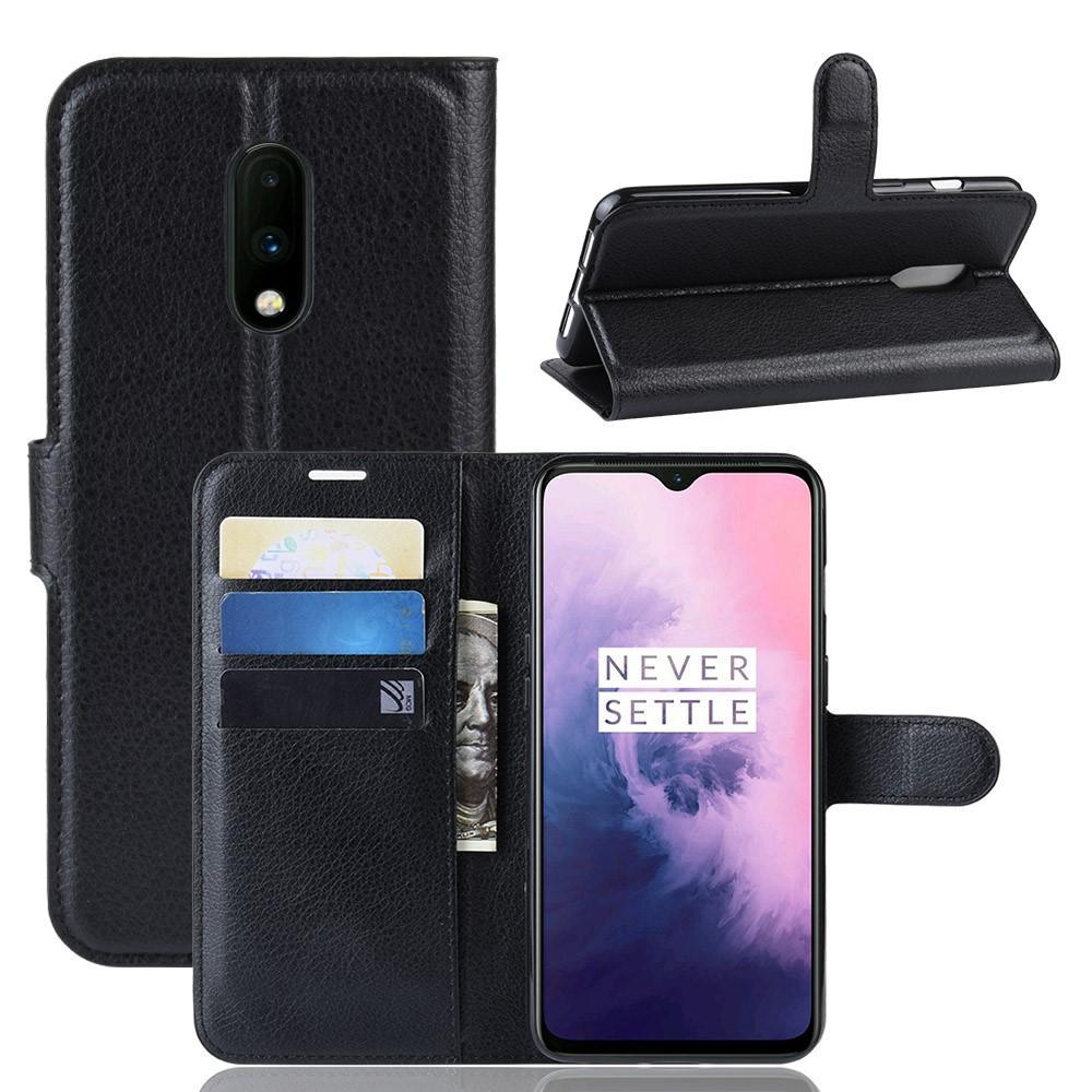 Mobilveske OnePlus 7 svart