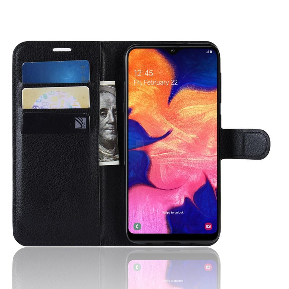 Mobilveske Samsung Galaxy A10 svart