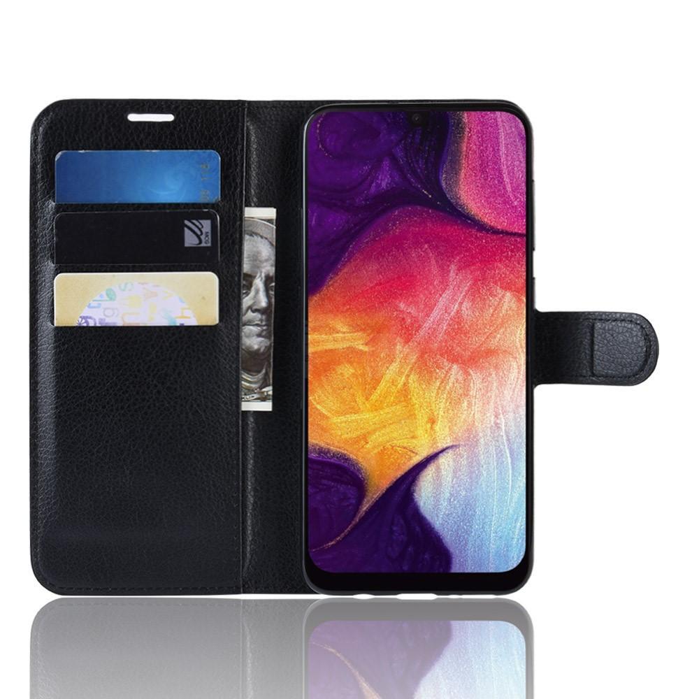 Mobilveske Samsung Galaxy A50 svart