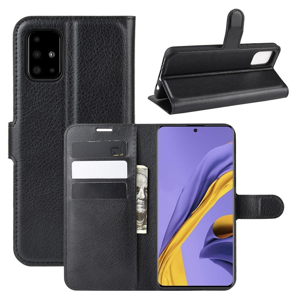 Mobilveske Samsung Galaxy A51 svart