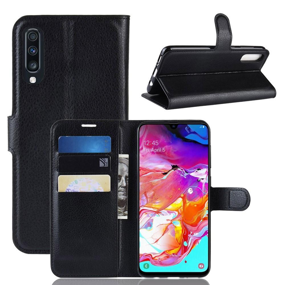 Mobilveske Samsung Galaxy A70 svart