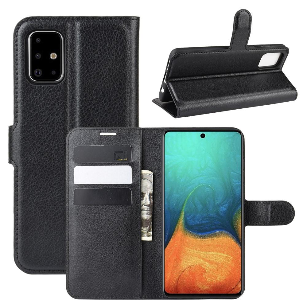 Mobilveske Samsung Galaxy A71 svart